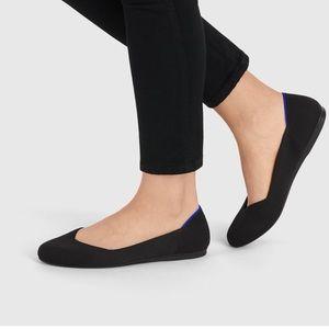 Rothy's Black Round Toe Flat Size 9